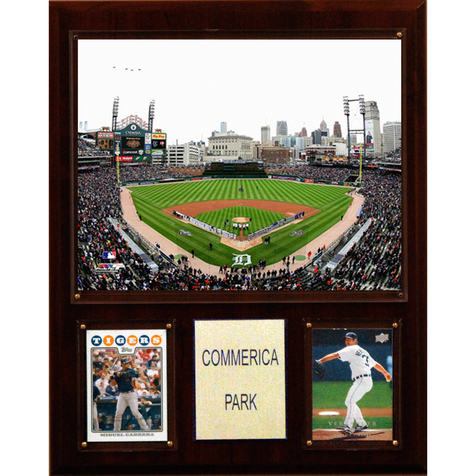 C&I Collectables MLB 12x15 Comerica Park Stadium Plaque
