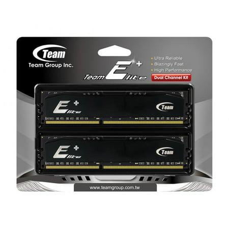 - 2GB Team Elite Plus Black DDR RAM PC3200 (3-4-4-8) Dual Channel kit for Desktops