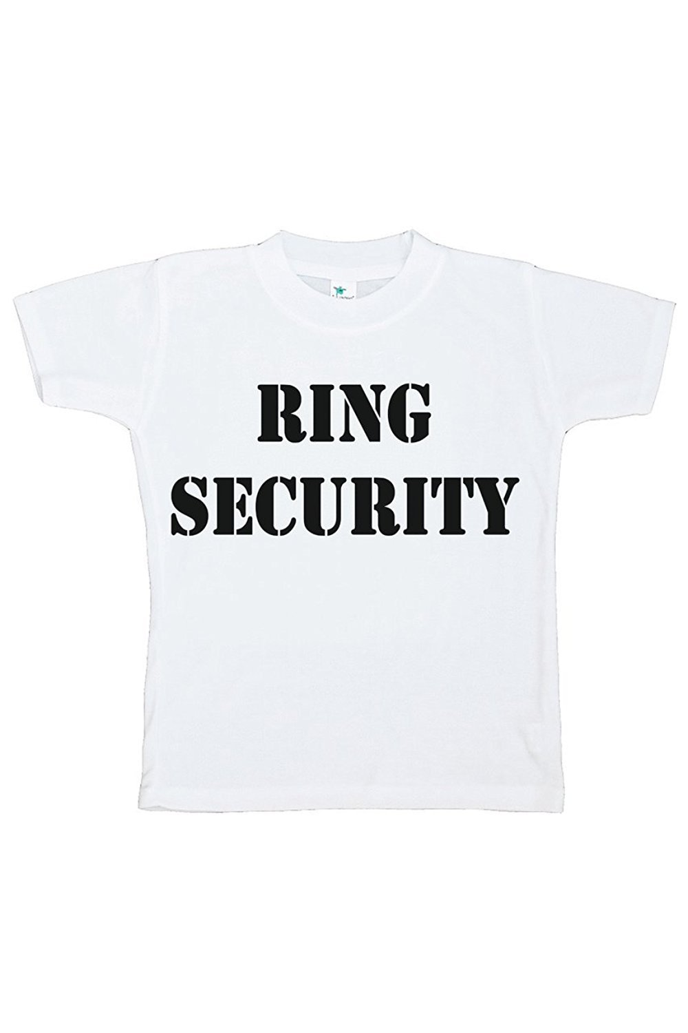 Custom Party Shop Toddler Boy's Ring Security Wedding T-shirt - 4T