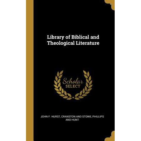 Library of Biblical and Theological Literature Hardcover