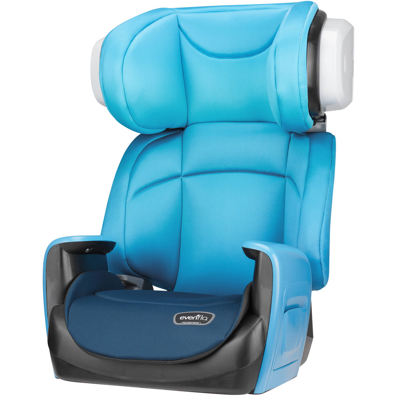 Evenflo Spectrum 2-in-1 High Back Booster Car Seat, Bubbly Blue
