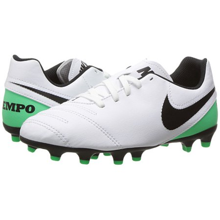 Nike - Nike JR TIEMPO RIO III FG Youth Boys White Green Athletic Soccer  Cleats - Walmart.com 9390eae21984e