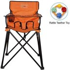 Ciao Baby Portable Highchair Multi Colored Walmart Com