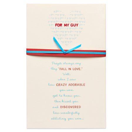 American Greetings My Guy Romantic Birthday Card For Him