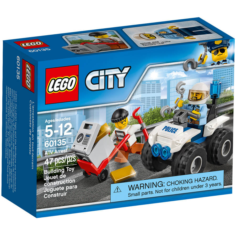 Lego City Police ATV Arrest 60135 by LEGO Systems Inc