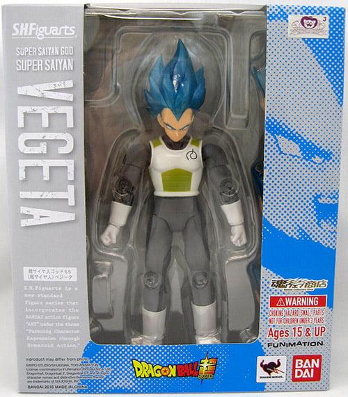Figuarts Bandai Vegeta Super Saiyan God Super Saiyan S.H DRAGON BALL Movie F