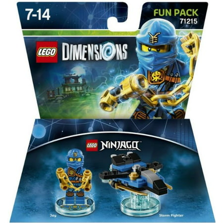 lego ninjago lego dimensions jay exclusive fun pack 71215. Black Bedroom Furniture Sets. Home Design Ideas