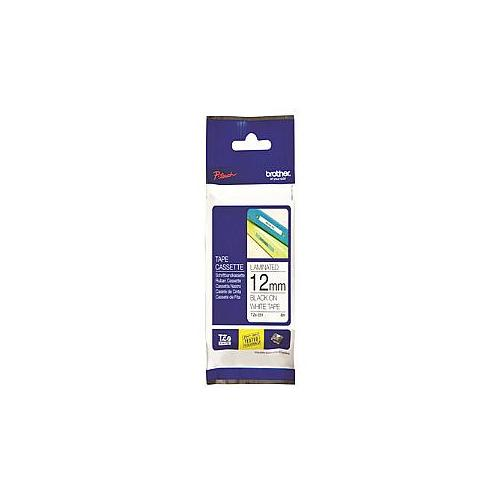 Brother TZe 231 - Laminated tape - black on white - Roll (0.47 in x 26.3 ft) 1 roll(s) - for P-Touch PT-1010, 1090, 1280