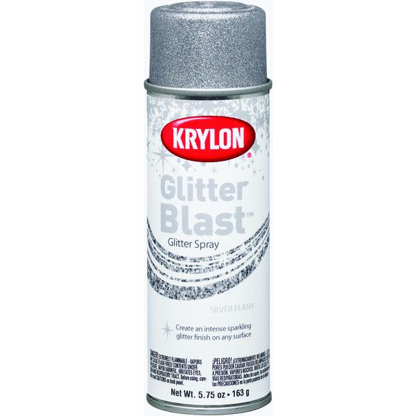 Krylon Glitter Blast, Silver Flash