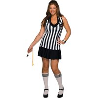 Women's Secret Wishes My Size 14-16  Foul Play Referee Costume