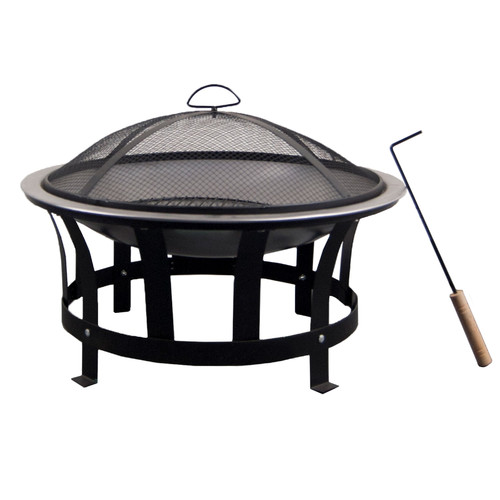 Buyers Choice Phat Tommy Stainless Steel Fire Pit