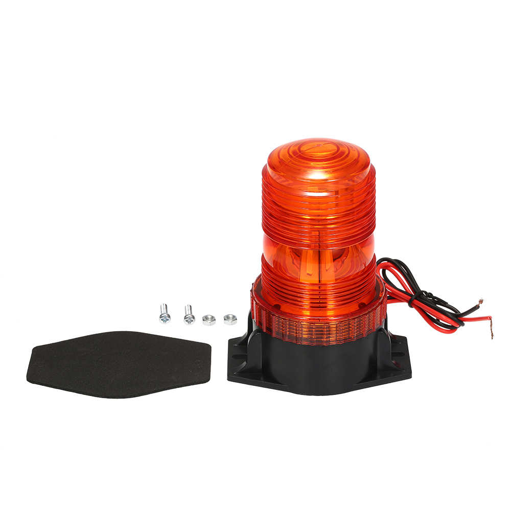 Emergency Warning Light 30 LED Amber/Yellow 15W Emergency