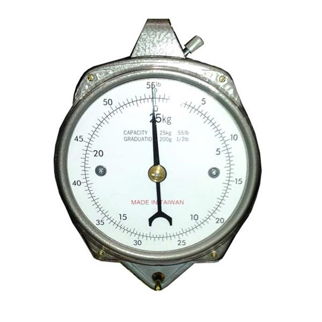 Zenport AZDH100-4PK Mechanical Hanging Dial Scale 100 lbs. , Box of 4
