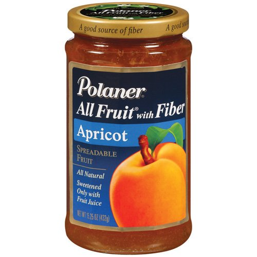 Polaner All Fruit Apricot Fruit Spread, 15.25 oz