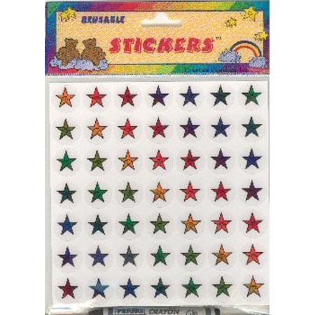 Reusable Star Stickers, great for job charts, homework charts, chore charts By Creative Changes - Great Job Sticker