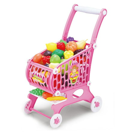 Kids Toy Shopping Cart, 48 Piece Set](Shopping For Toys)