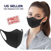 Reusable Washable Polyester Face Covering Mask Water Resistant For Men or Women