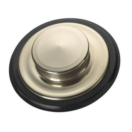 InSinkErator  Sink Stopper, Brushed Stainless Steel (STP-SSB)