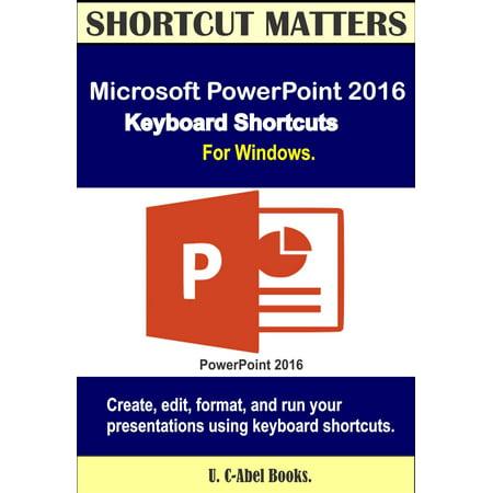 Microsoft PowerPoint 2016 Keyboard Shortcuts For Windows - eBook Power Window Wiring Boots