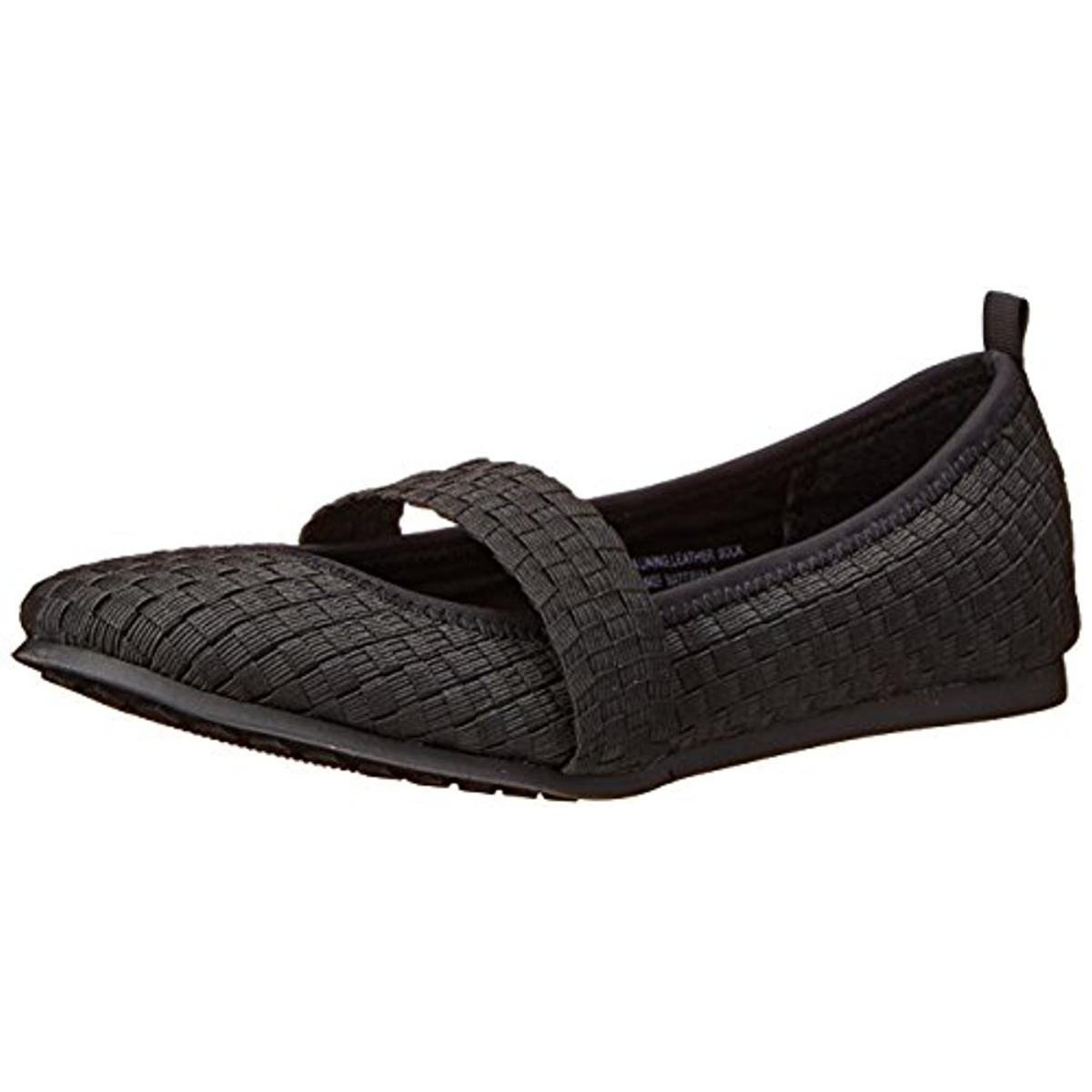 Me Too Womens Peyton Woven Flats Mary Janes by Me Too