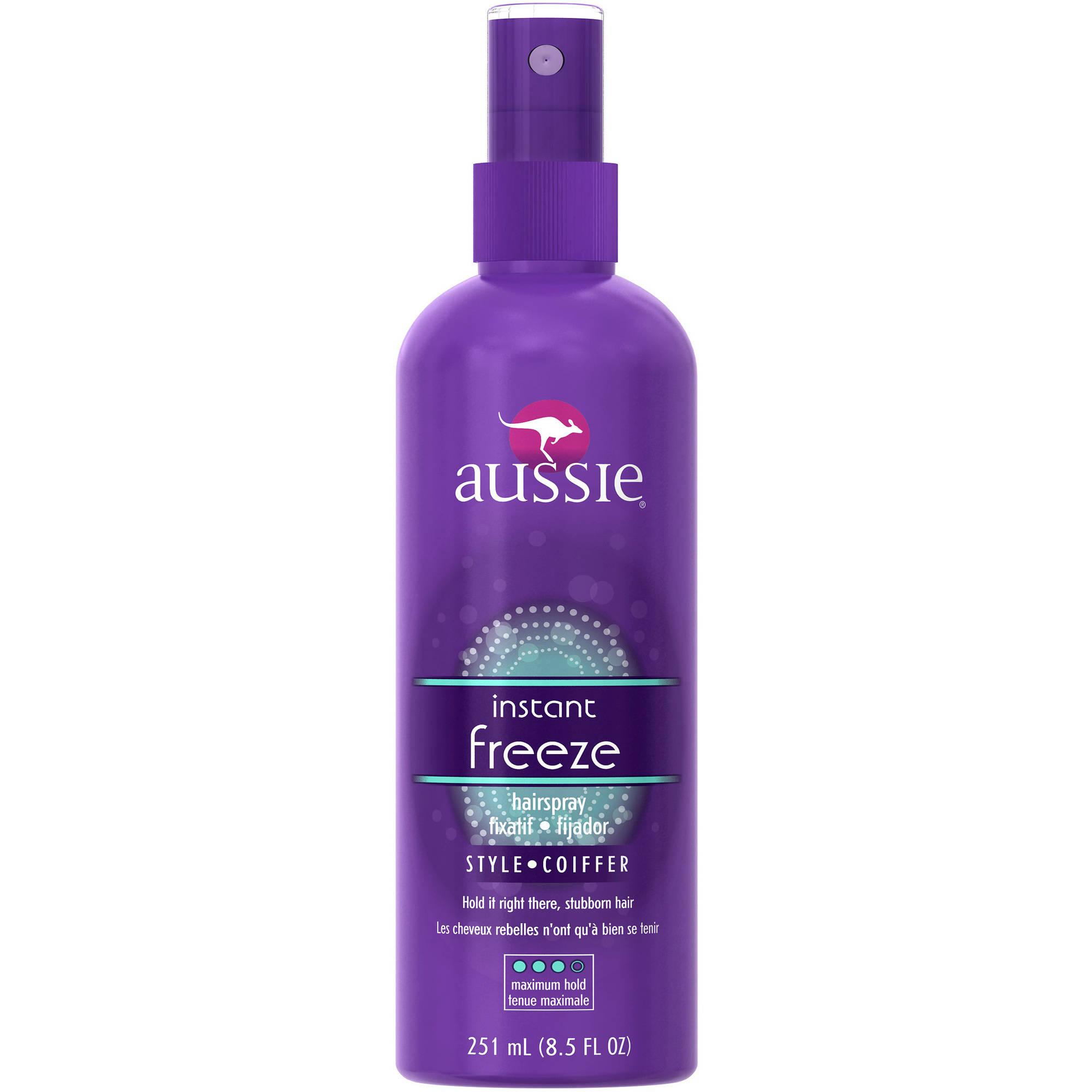Aussie Instant Freeze Non-Aerosol Hairspray, 8.5 oz