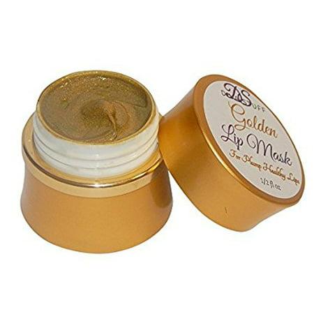 Golden Plumping Lip Mask With Vita-Marine Avocado, Argan oil, Caffeine and More! Diva Stuff Golden Beauty!