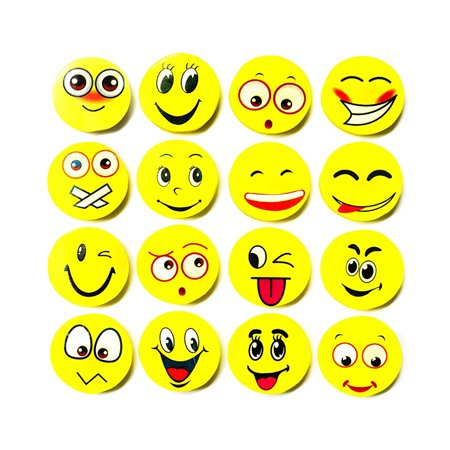 4pcs Cute Smiley Face Rubber Pencil Eraser for Kids Gift Office School Supplies - School Supplies For Kids