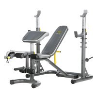 Golds Gym XRS 20 Bench & Rack With 100 lbs Weight