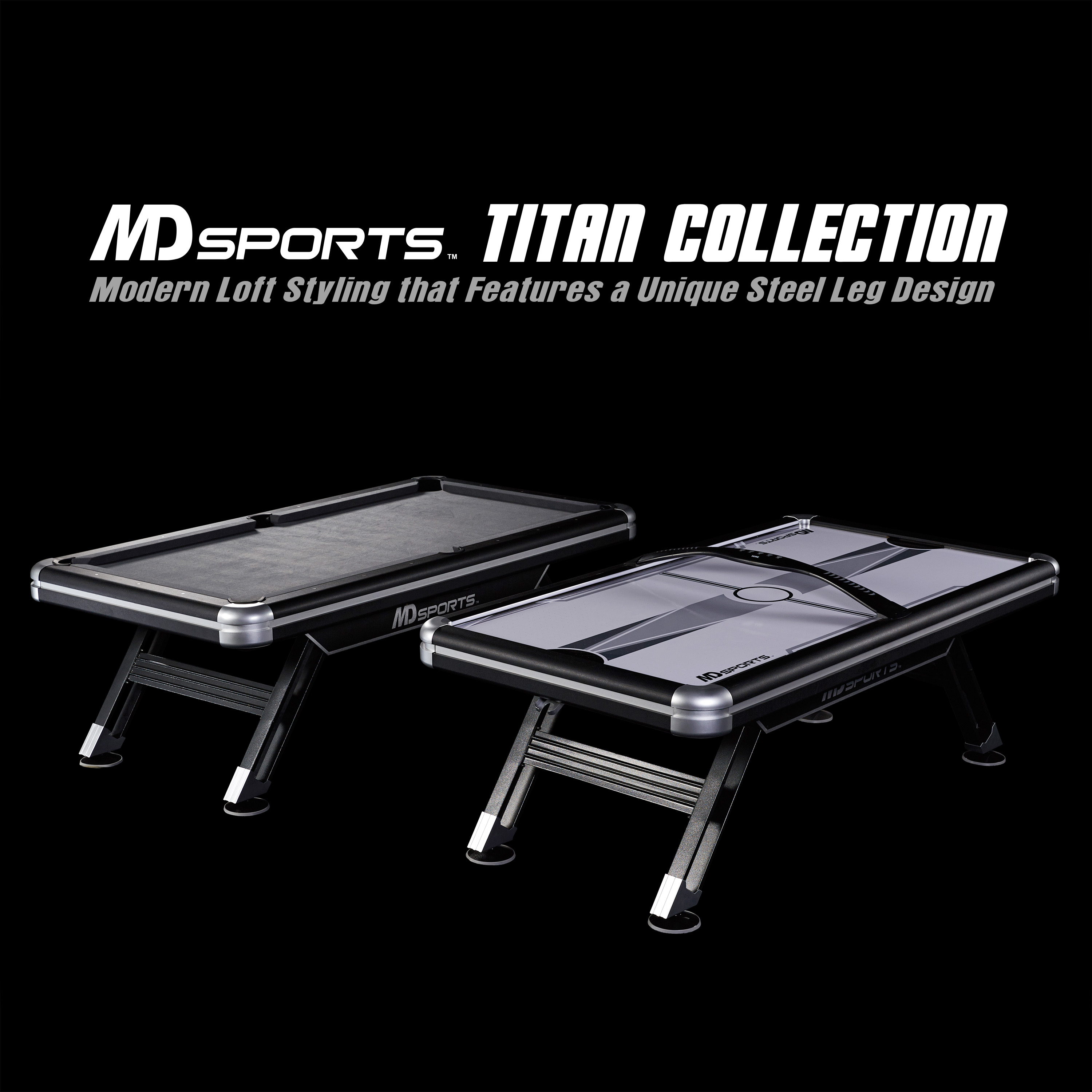MD Sports Titan Ft Billiards Pool Table Walmartcom - Pool table stores in maryland