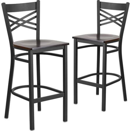 Flash Furniture 2pk HERCULES Series Black