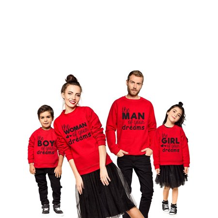 ReliMart Popular Christmas Family Matching Outfits Adult Children Family Shirt Set