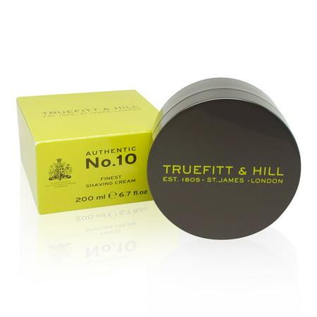 Truefitt & Hill No 10 Finest Shaving Cream 6.7 (Truefitt And Hill Ultimate Comfort Pre Shave Oil)