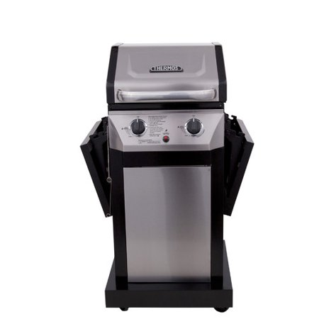 Char Broil Thermos 2 Burner Propane Gas Grill With Cabinet