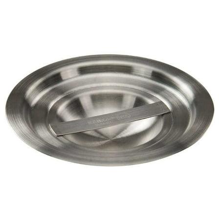 - Winco BAMN-1.25C, 5-Inch Dia 1.25-Quart Stainless Steel Bain Marie Pot Cover, NSF