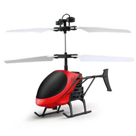 Mini Remote Control Helicopter, Gesture Induction Helicopter USB Charge LED Flashing Light Helikopter Best Birthday Christmas Festival Gift for Kids Boys