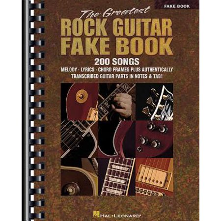 The Greatest Rock Guitar Fake Book (Paperback) - Greatest Soft Rock Guitar