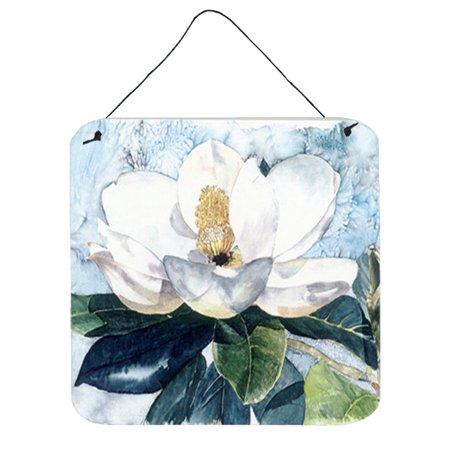 Flower - Magnolia Aluminium Metal Wall or Door Hanging (Metal Magnolia Wall)