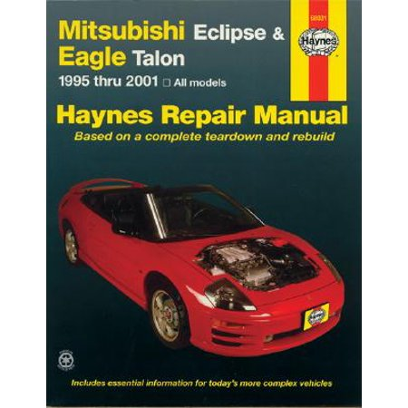 Haynes Mitsubishi Eclipse & Eagle Talon Automotive Repair Manual