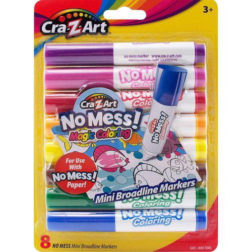Cra Z Art 8 Count No Mess Markers - Walmart.com