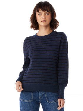 Free Assembly Womens Boxy Crewneck Sweater