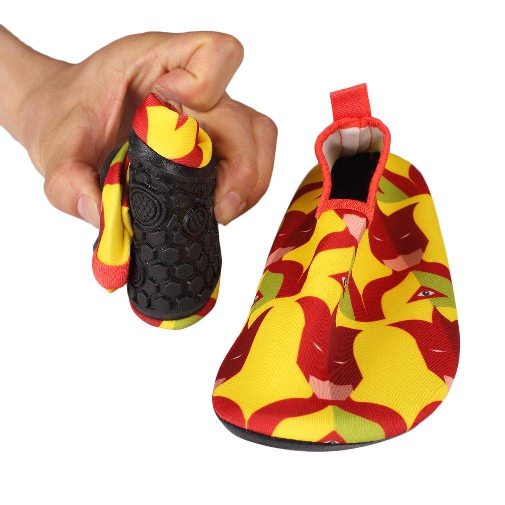 94e4b9da2ccf Children Kids Water Shoes Anti-slip Quick-Dry Swimming Diving ...