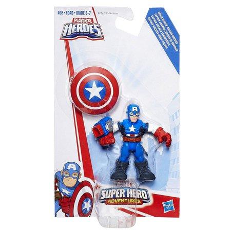 Marvel Super Hero Adventures Shield Slingin Captain America Action - Captain America Shields
