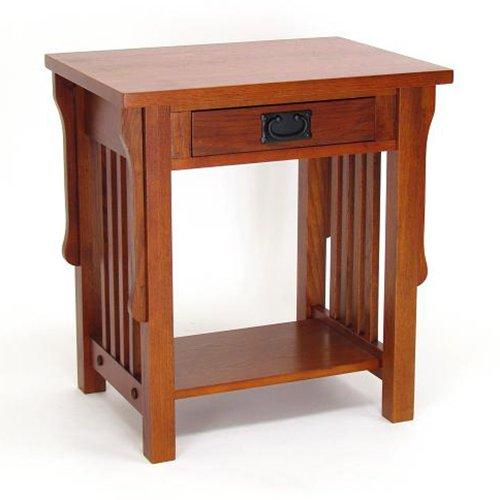 Nightstand w Drawer and Bottom Shelf