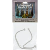 "Enchanted Liquid Candle Wicks 5"" 2/Pkg-13mmX30mm Adapter"