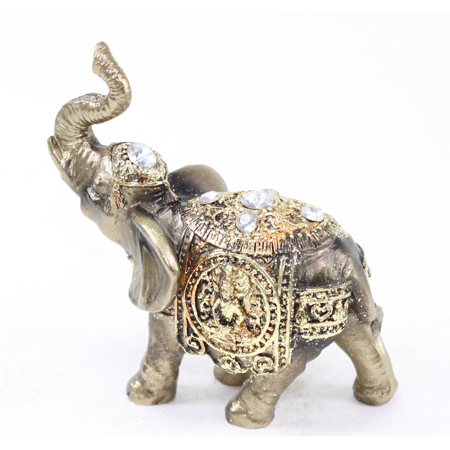 Small Elephant Figurine - Brand New Feng Shui 4