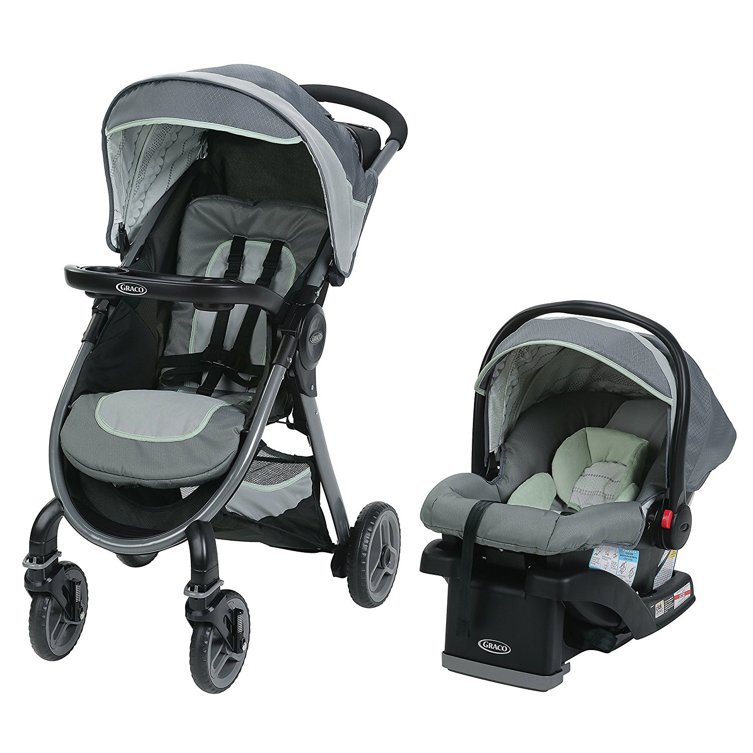 Graco FastAction 2.0 Travel System With SnugRide Click