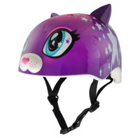 Raskullz Star Kitty Purple Bike Helmet, Child 5+ (50-54cm)
