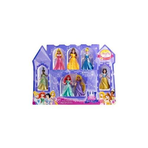 Disney Princess Little Kingdom Magiclip 7-Doll Giftset by