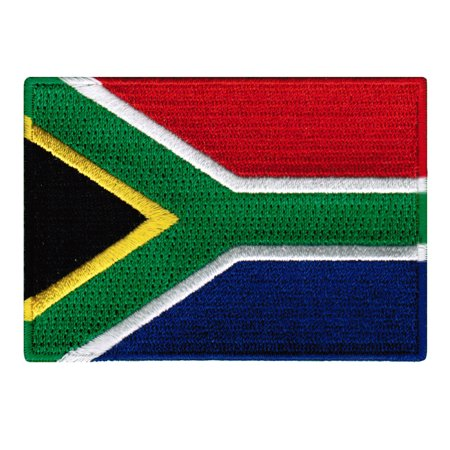 South Africa Flag Embroidered Iron-on Patch