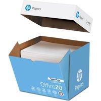 HP Paper, Office 20lb Letter Paper - 1 Quickpack (NO REAM WRAP), White, 2500 / Carton (Quantity)